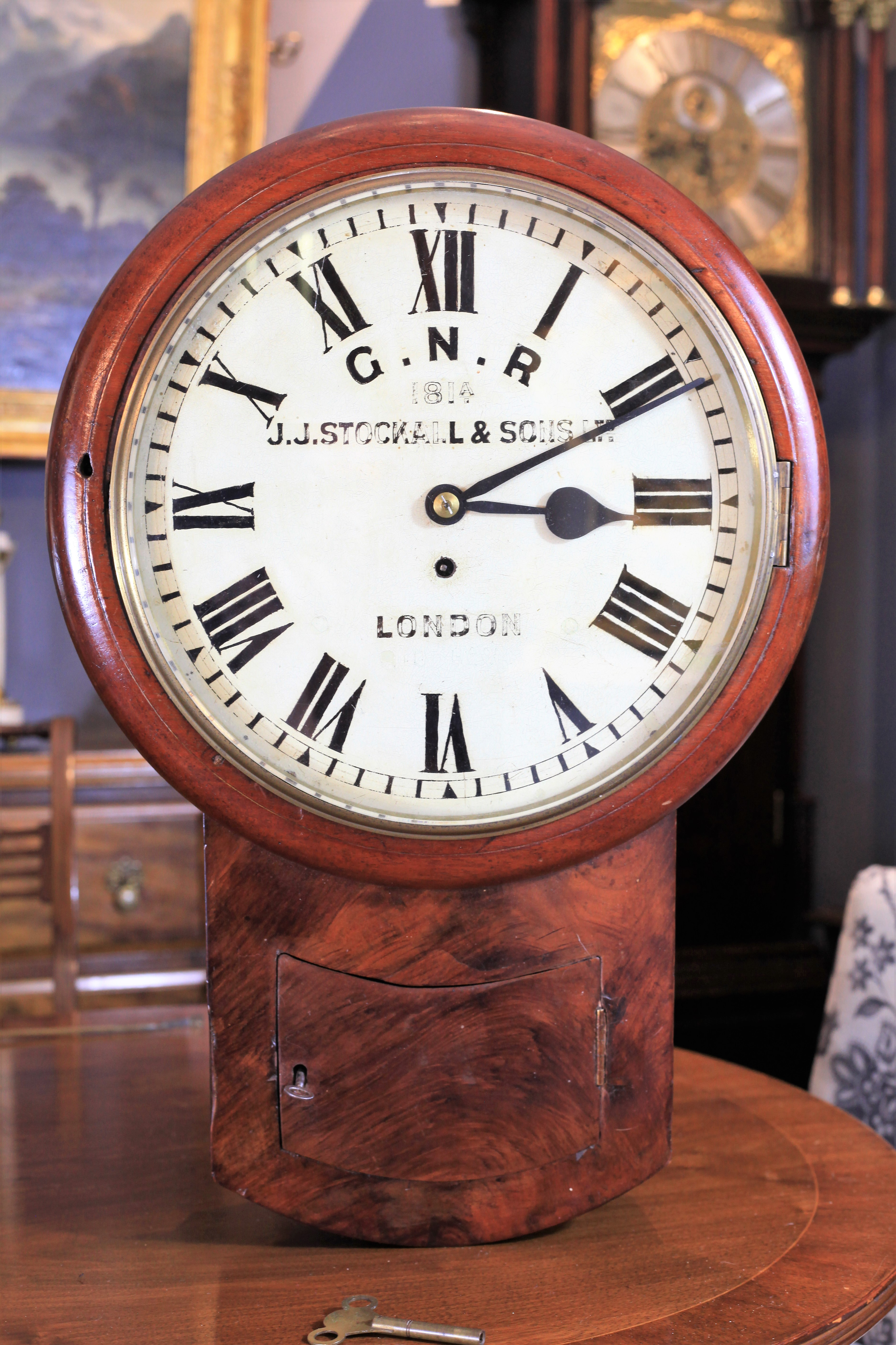 A Rare Genuine Double Sided Railway Clock From Haven House Station