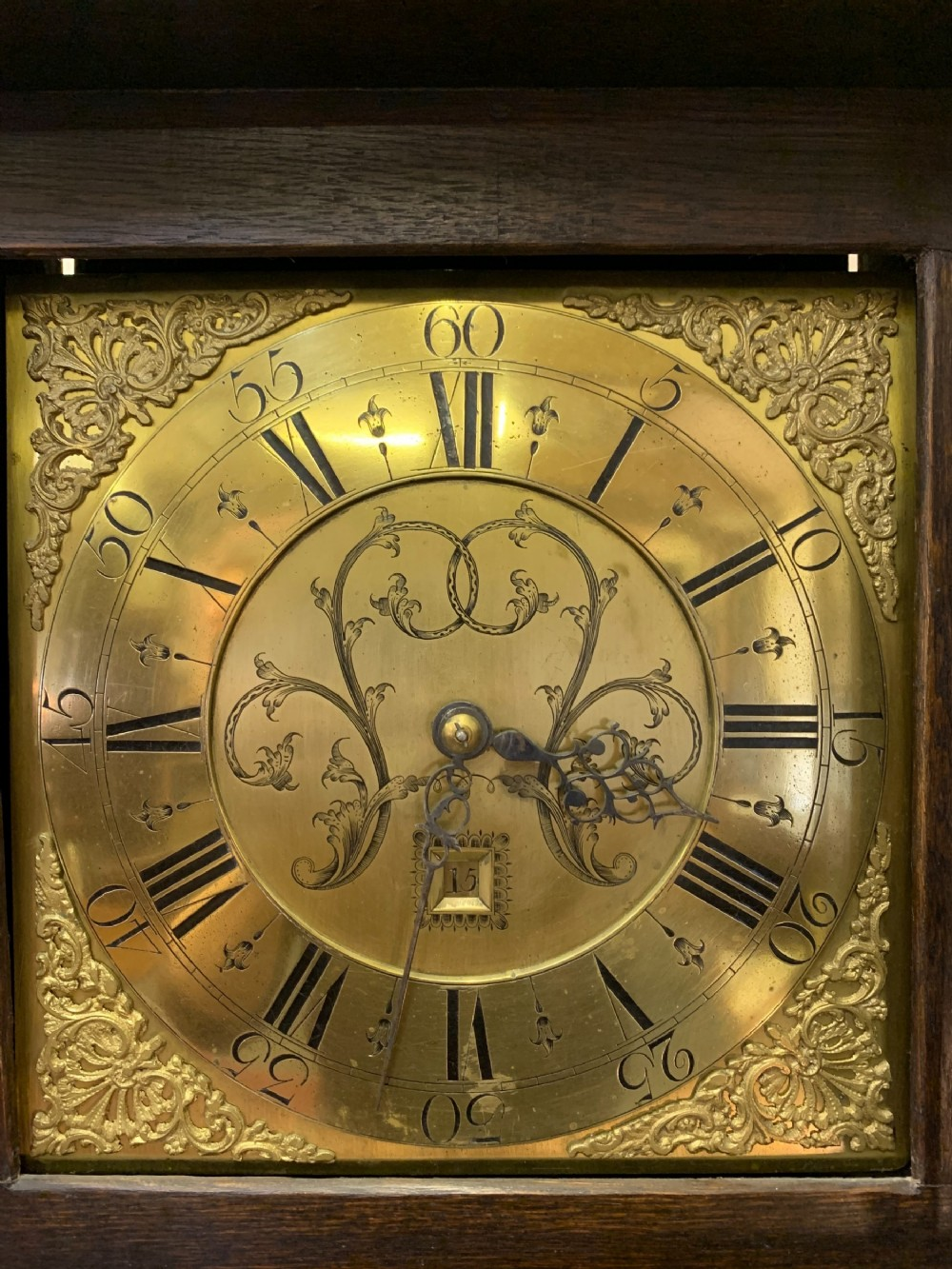 A Lovely Welsh Longcase Clock Of Small Proportions
