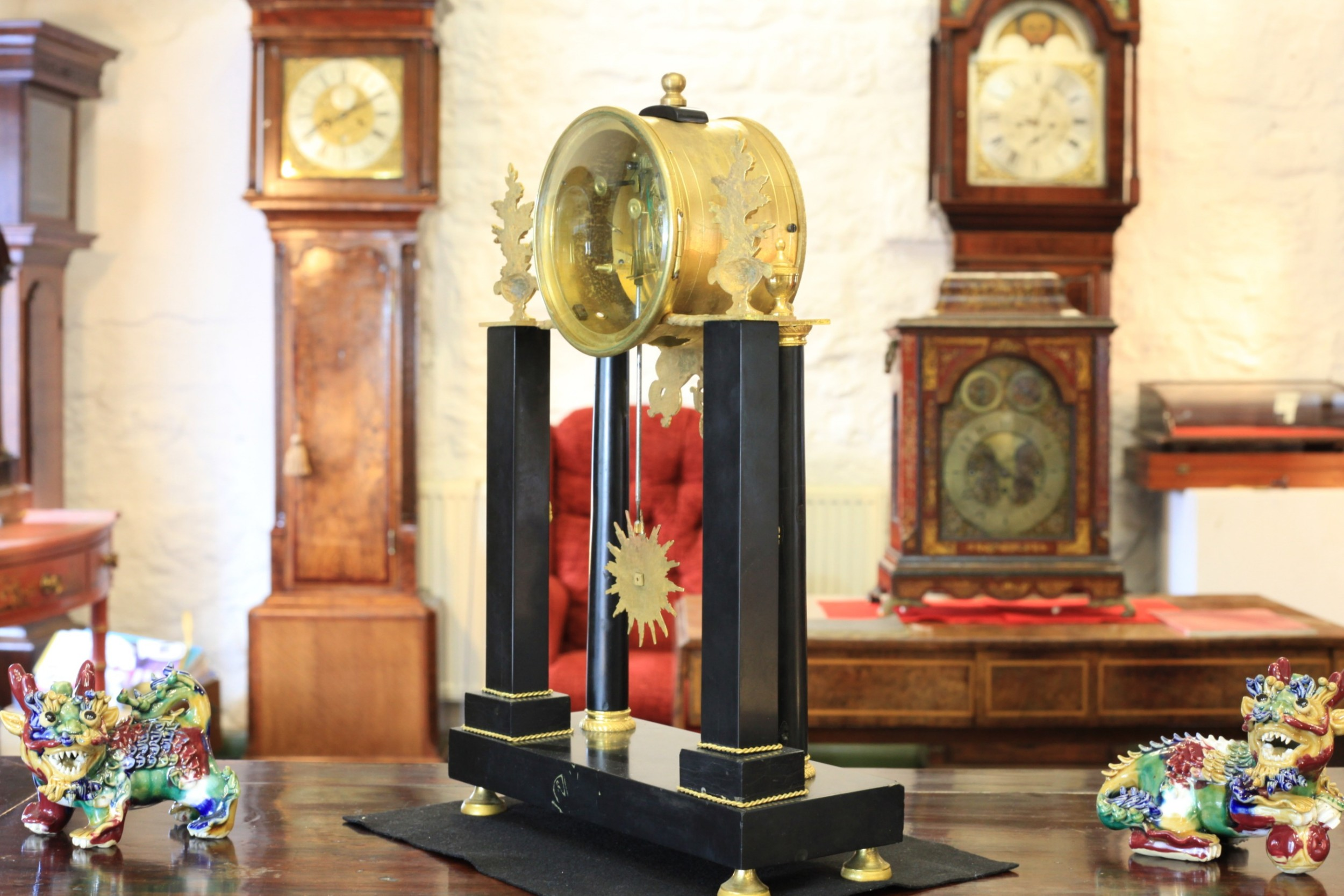 An Empire Period French Mantle Clock By Gaston Jolly C1810